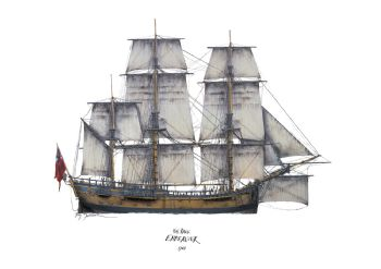 HM Bark Endeavour 1768